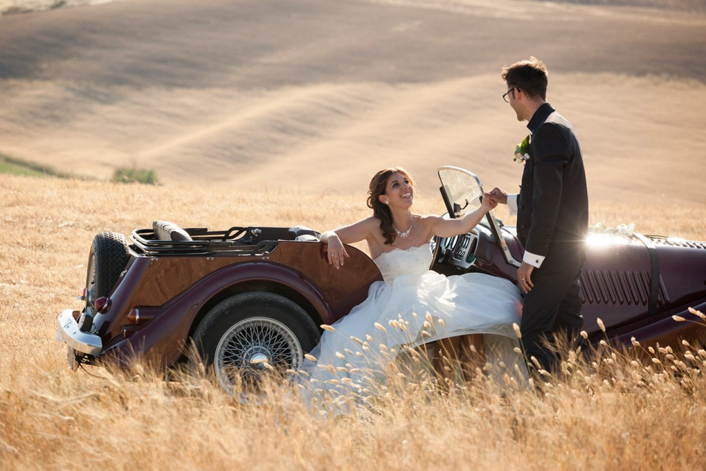 Matrimonio all'Agriturismo La Mandriola - Nieves e Stefan