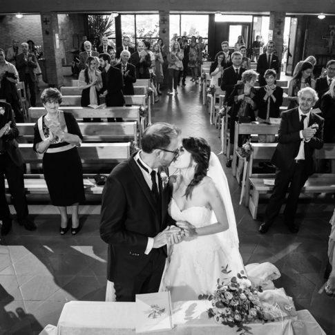 sposi in chiesa della santissima trinità