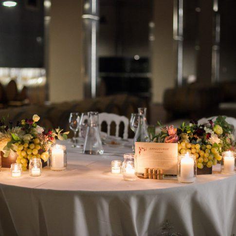 tavolo degli sposi a la spinetta casanova