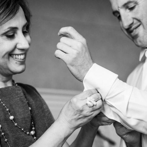 preparativi dello sposo a villa scorzi