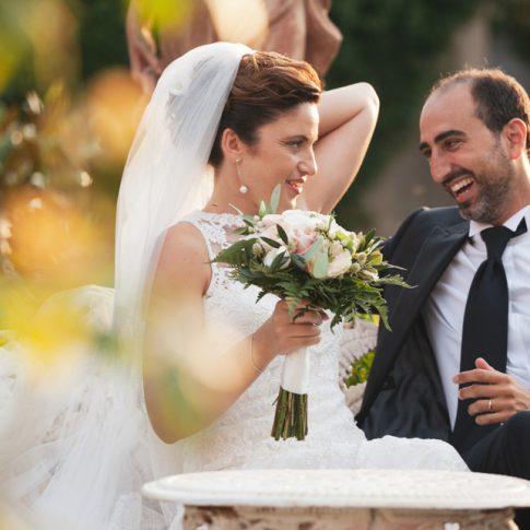 sposi in giardino di villa scorzi, calci, pisa