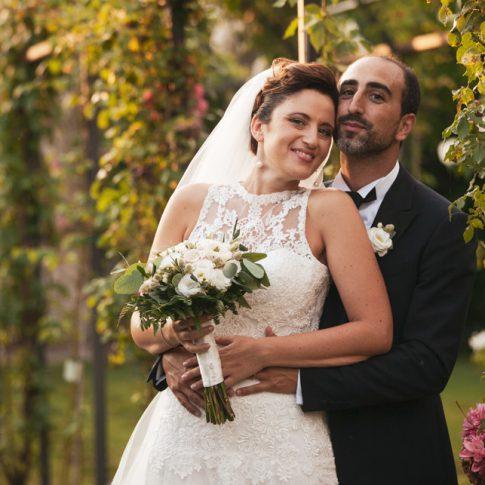 sposi nel roseto di villa scorzi, calci, pisa